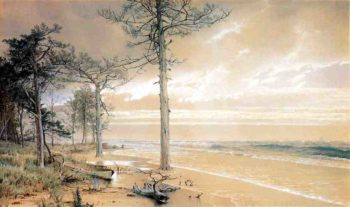 Off Atlantic City | William Trost Richards | oil painting