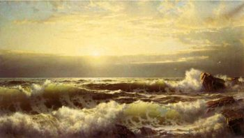 Off Conanicut Newport | William Trost Richards | oil painting