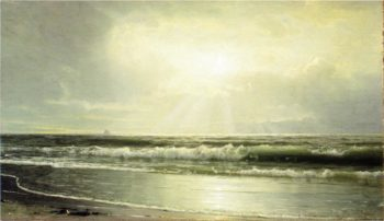 Off Newport | William Trost Richards | oil painting