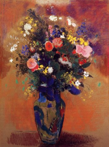 Bouquet in a Persian Vase | Odilon Redon | oil painting