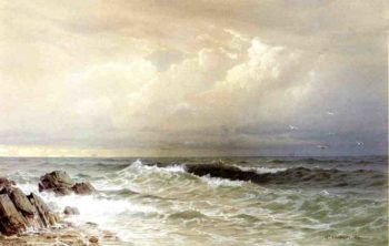 Off the Coast of Rhode Island | William Trost Richards | oil painting