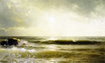 Off the South Shore | William Trost Richards | oil painting
