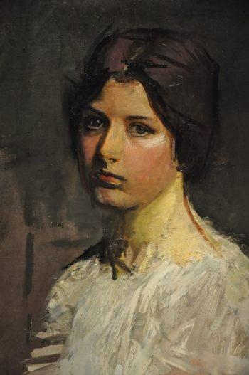 Gladys   Abbott Handerson Thayer   oil painting