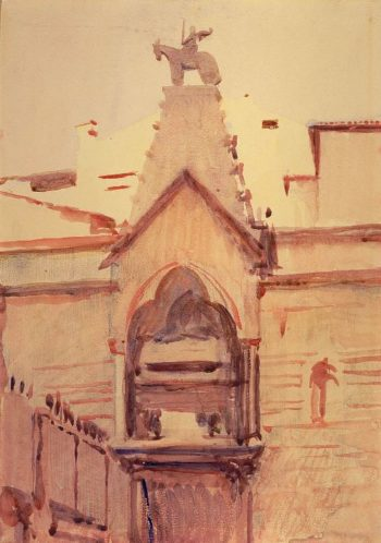 Tomb of Verona | Abbott Handerson Thayer | oil painting