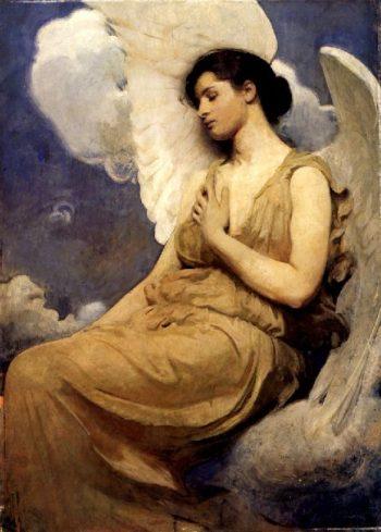 Winged Figure | Abbott Handerson Thayer | oil painting