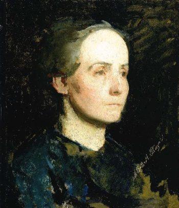 Portrait of a Woman | Abbott Handerson Thayer | oil painting