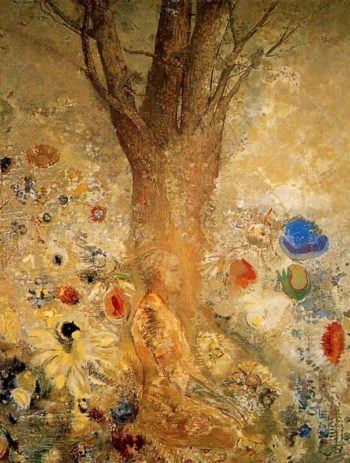 Buddah in His Youth | Odilon Redon | oil painting