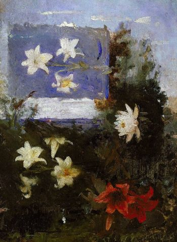 Flower Studies | Abbott Handerson Thayer | oil painting