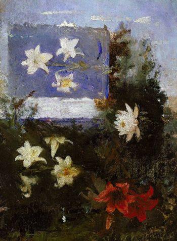 Flower Studies | Abbott Handerson Thayer | oil painting