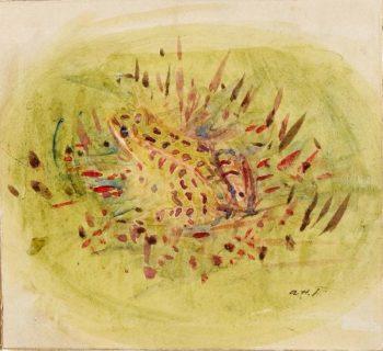 Frog | Abbott Handerson Thayer | oil painting