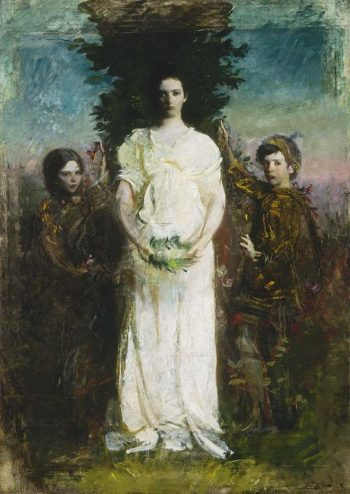 My Children | Abbott Handerson Thayer | oil painting