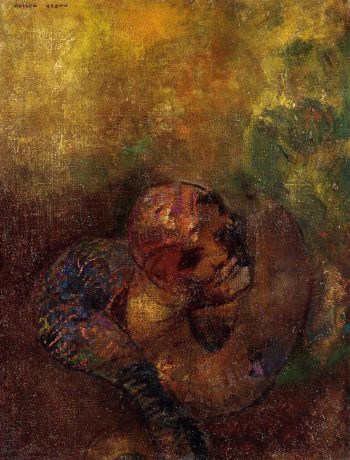 Chrysalis | Odilon Redon | oil painting