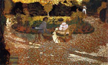 In the Garden | Edouard Vuillard | oil painting