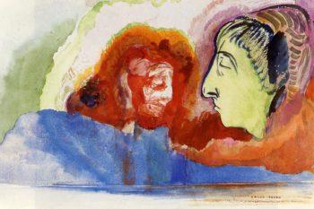 Dante's Vision | Odilon Redon | oil painting