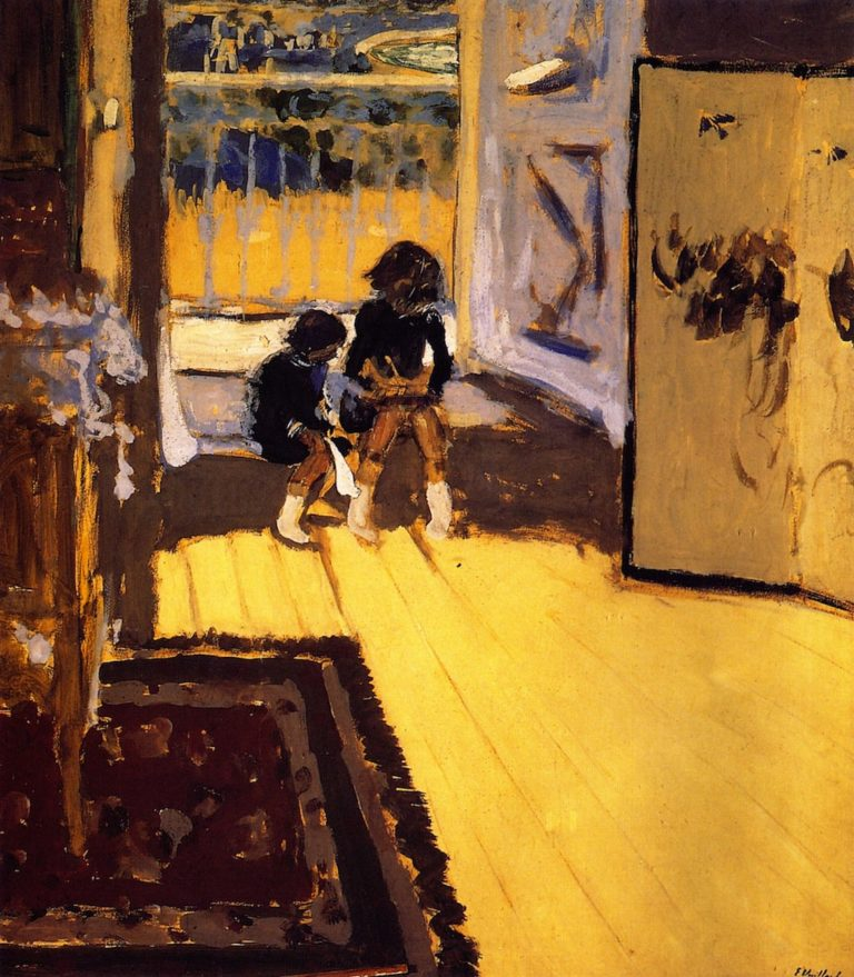 Children | Edouard Vuillard | oil painting