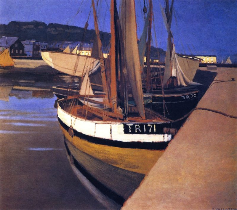 A Port | Felix Vallotton | oil painting