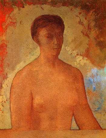 Eve | Odilon Redon | oil painting