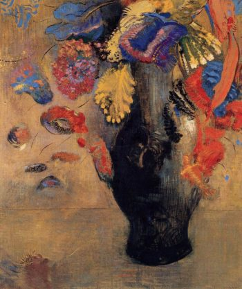 Flowers | Odilon Redon | oil painting