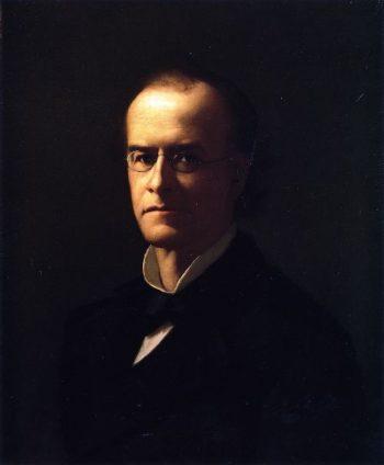 Charles Hamlin   Frank W Benson   oil painting