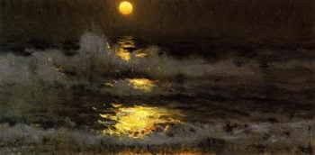 IMoonlight | Frank W Benson | oil painting