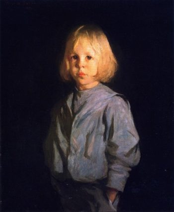Portrait of a Boy | Frank W Benson | oil painting