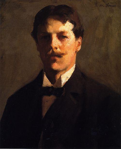 Self Portrait | Frank W Benson | oil painting