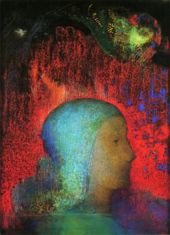 Joan of Arc | Odilon Redon | oil painting
