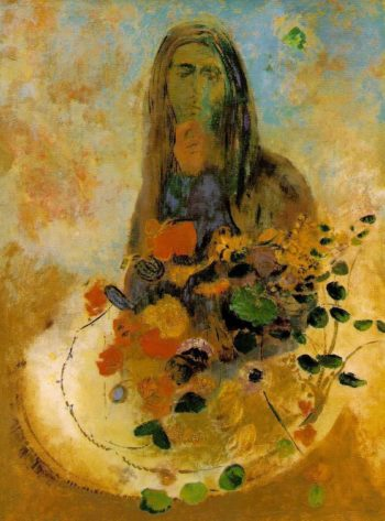 Mystery | Odilon Redon | oil painting