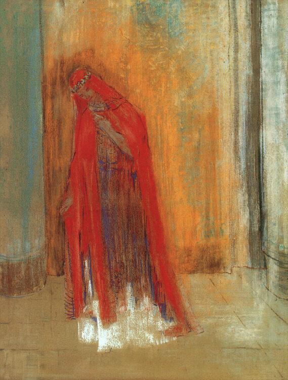Oriental Woman | Odilon Redon | oil painting