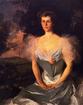 Mrs Hathaway | Frank W Benson | oil painting