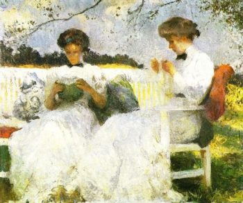 Afternoon in September | Frank W Benson | oil painting