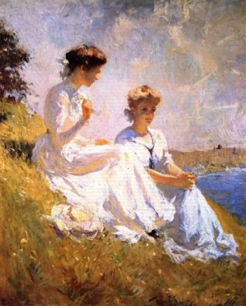 In Summer | Frank W Benson | oil painting