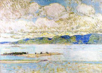 Frenchman's Bay Mount Desert | Frederick Childe Hassam | oil painting