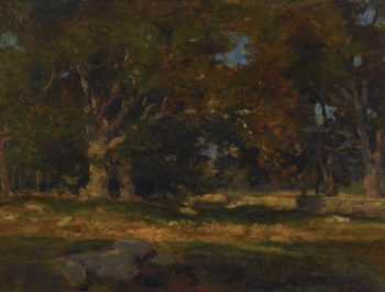 Medfield Massachusetts | George Inness | oil painting