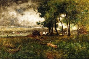 Etretat | George Inness | oil painting