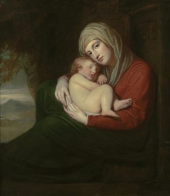 A Mother and Child | George Romney | oil painting