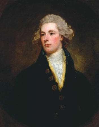 William Pitt the Younger | George Romney | oil painting