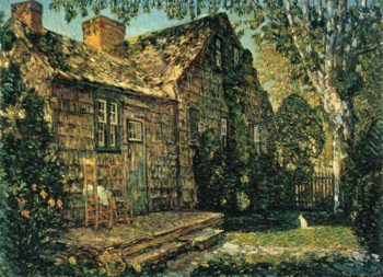 Little Old Cottage, Egypt Lane, East Hampton Frederick Childe Hassam