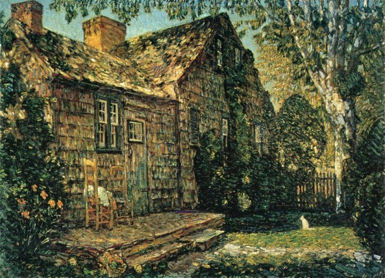 Little Old Cottage, Egypt Lane, East Hampton Frederick Childe Hassam