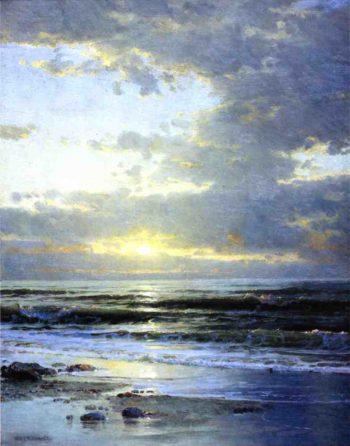 Sunrise on the Beach | William Trost Richards | oil painting