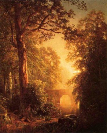 The Arched Bridge | William Trost Richards | oil painting