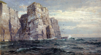 The Bird Stacks | William Trost Richards | oil painting