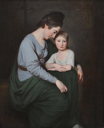 Ann Wilson with her Daughter Sybil | George Romney | oil painting