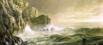 The Coast of Cornwall | William Trost Richards | oil painting