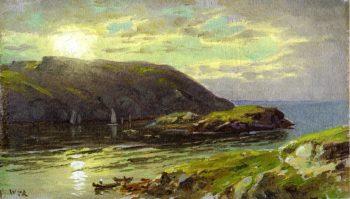 The Harbor at Monhegan | William Trost Richards | oil painting