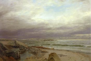 The Lions of Cornwall | William Trost Richards | oil painting