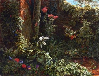 The Neglected Garden | William Trost Richards | oil painting