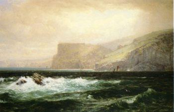 Tintagel Coast | William Trost Richards | oil painting