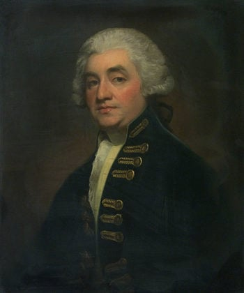 Vice Admiral Sir Joshua Rowley | George Romney | oil painting