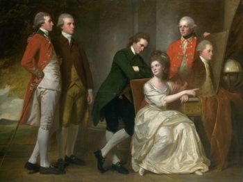 The Beaumont Family | George Romney | oil painting